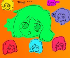 Colorful Expressions by MelodicMarzipan