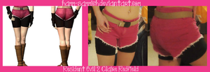 Resident Evil 2 Claire Redfield's Shorts by Hamm-Sammich