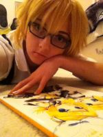 Len Is Bored Again by White--Swallow
