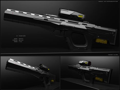 rifle concept (Pk-29-07-2016) by peterku