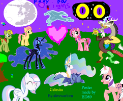 Unofficial Celestia Poster by BrightDark89