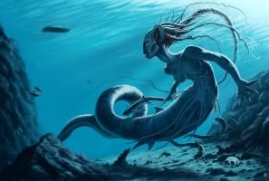Mermaid by rob-powell
