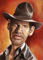 INDIANA JONES by JaumeCullell