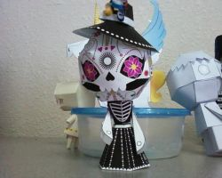 Paper Doll: La Catrina by Innocently-Creating