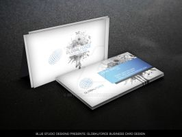 Globalforce Business Card Design by bry5012