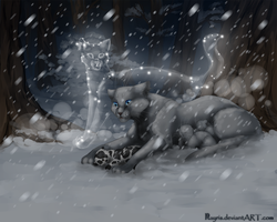 Death of Mosskit by Nayris