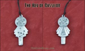 The Key of Rassilon II - Front and back view by TheIronRing