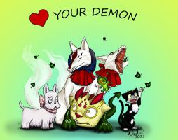 :Heart: your Demons by noot