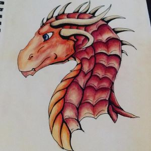 Quick coloured pencil thing by Umbra-Daemon