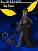 The Ninth Darkness- The Siren by TheScarletMercenary