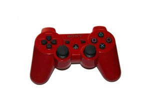 Red PS3 Controller Stock by Photshopmaniac