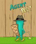 Agent Pee by Oloring