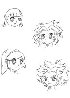 Faces by Tauberpa