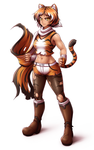 Tiger girl by Mazume