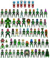 green lantern corps 1 by digikevin10