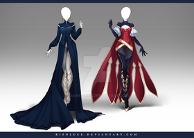 (CLOSED) Adoptable Outfit Auction 149 - 150 by JawitReen
