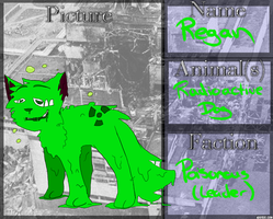 .:Nobyl-Nation:. Regan of the Poisonous by AgenderedKing