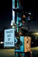 Tracks Out Of Service by sullivan1985