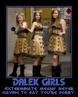 Dalek Girls by Scavgraphics