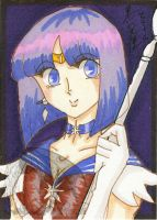Beatuifully Saturn ACEO by kuroitenshi13
