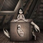 Girl in the Box by emptyidentityentity