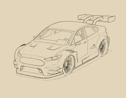 WIP_2013 Ford Mondeo DTM by tincap