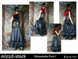 Melancholia Pack 1 by mizzd-stock