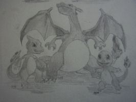 gotta draw them all 004 005 006 by Jornblk