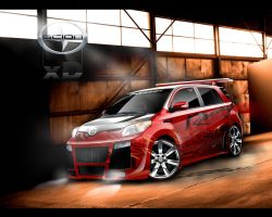Scion xD_ sKined by aKreations