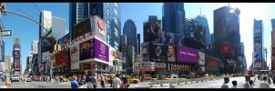 New York - Times Square by skymax2k