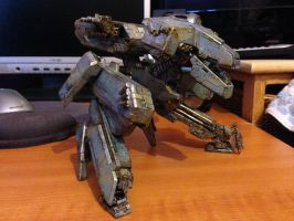 Custom Kotobukiya Metal Gear Rex - MGS4 Version by SolidAlexei