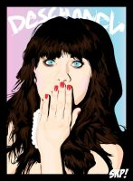 Zooey Deschanel by Soyen