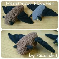 Fledermaus Plueschies - Selfmade by MoondragonEismond