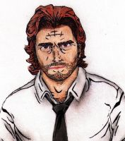 Bigby-The Wolf Among Us by ZoraSteam