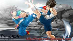 Aggressive Sparring by ruga-rell