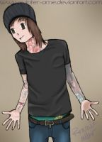 BMTHOFFICIAL: Oliver Sykes by winter-ame