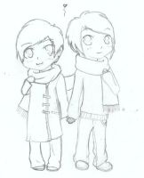 Dan and Phil by Mitsuki-Heartnet