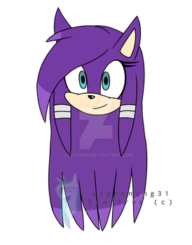 New Sonic OC! Phoebe the Echidna by Lightning31