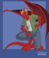 Commission - Gargoyle Rob (2/4) by shinga