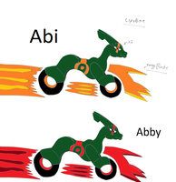 Abi Abby the cryobike by pd123sonic