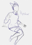 It's Hipster Fionna by CopperFishy