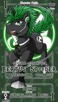 [Commission] Bertus Spooder by vavacung