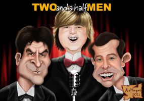 TWO AND A HALF MEN by alemarques21