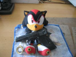 my shadow with gun by lv-a42