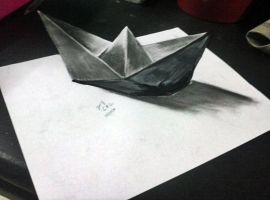 3d Paper Ship by ArtisanSMG