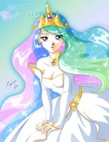 Princess Celestia by Shinta-Girl