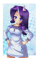 MLP: Rarity by Razorkun