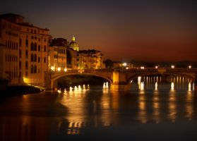evening at the Arno by VaggelisFragiadakis