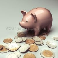3d piggy bank by jeff80