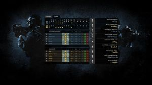 CS:GO Post-game Screen Design by eNzyOfficial